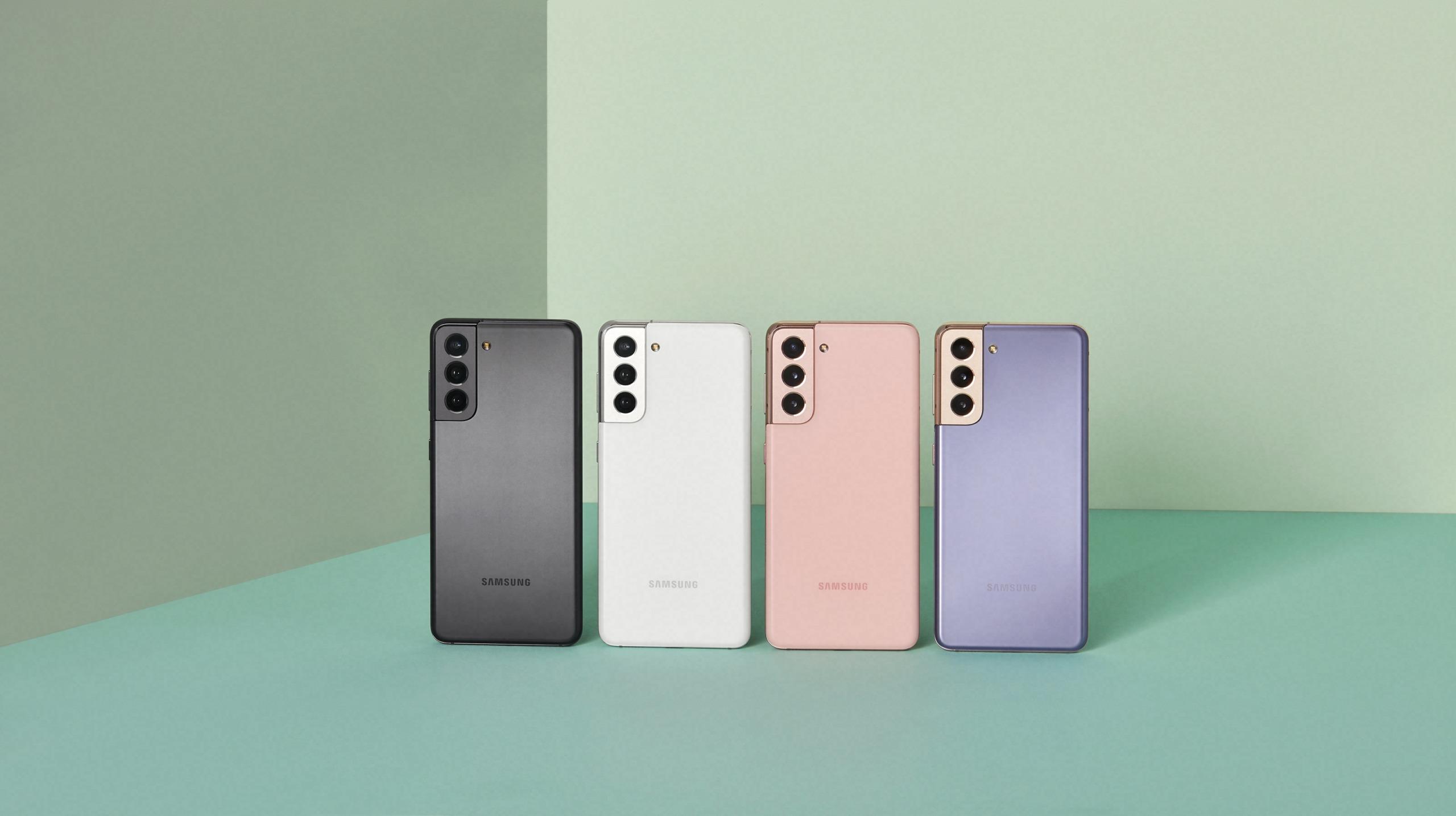 Samsung Galaxy S21 цвета