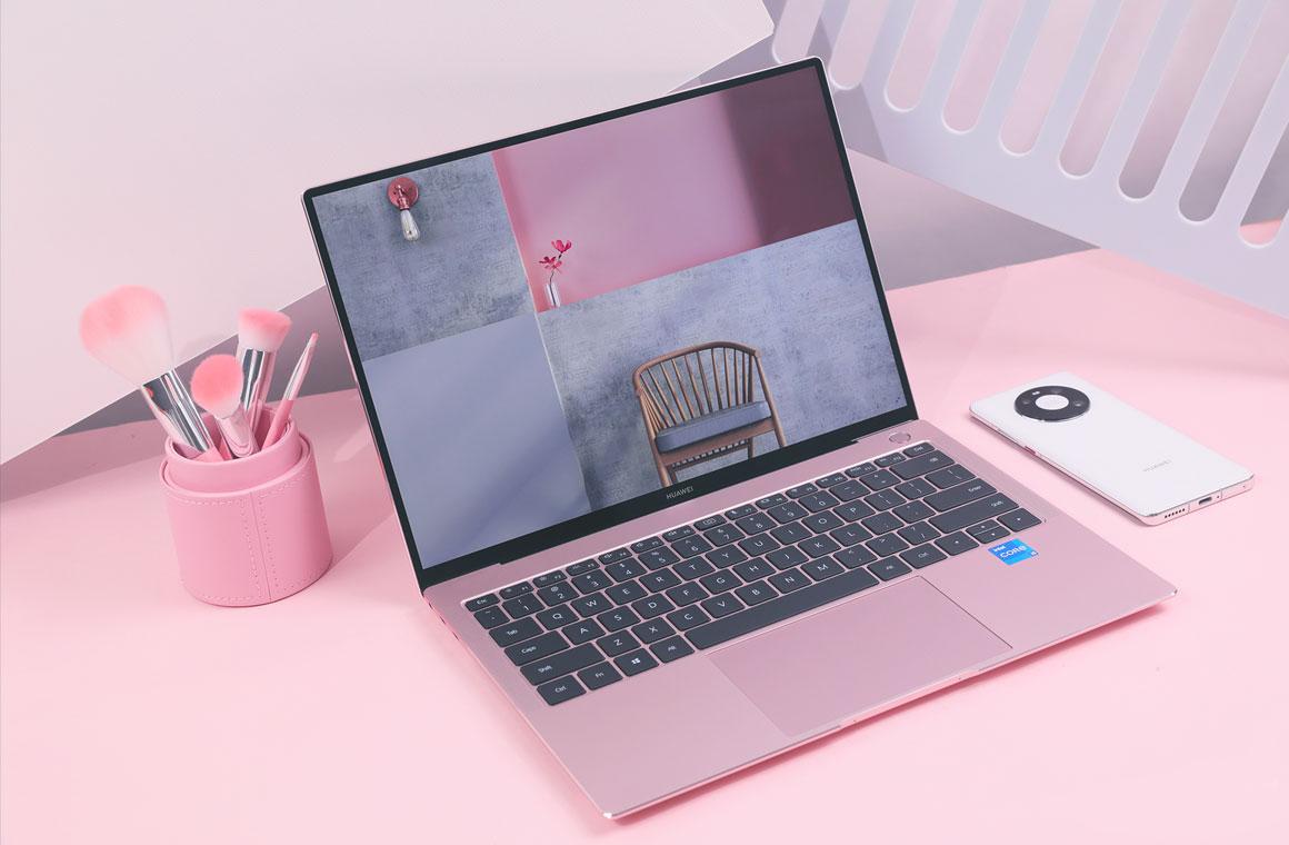 Huawei MateBook X Pro 2021 розовый
