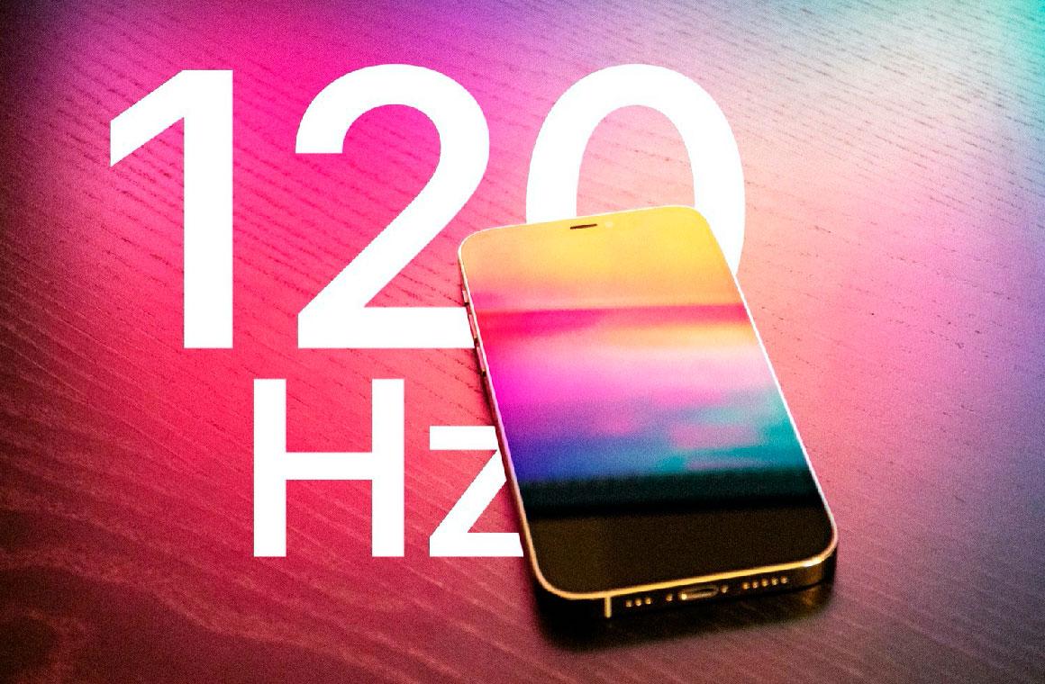iPhone 13 Pro 120 Гц