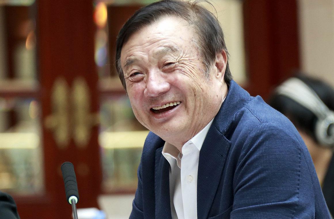 Рен Чжэнфэй глава Huawei