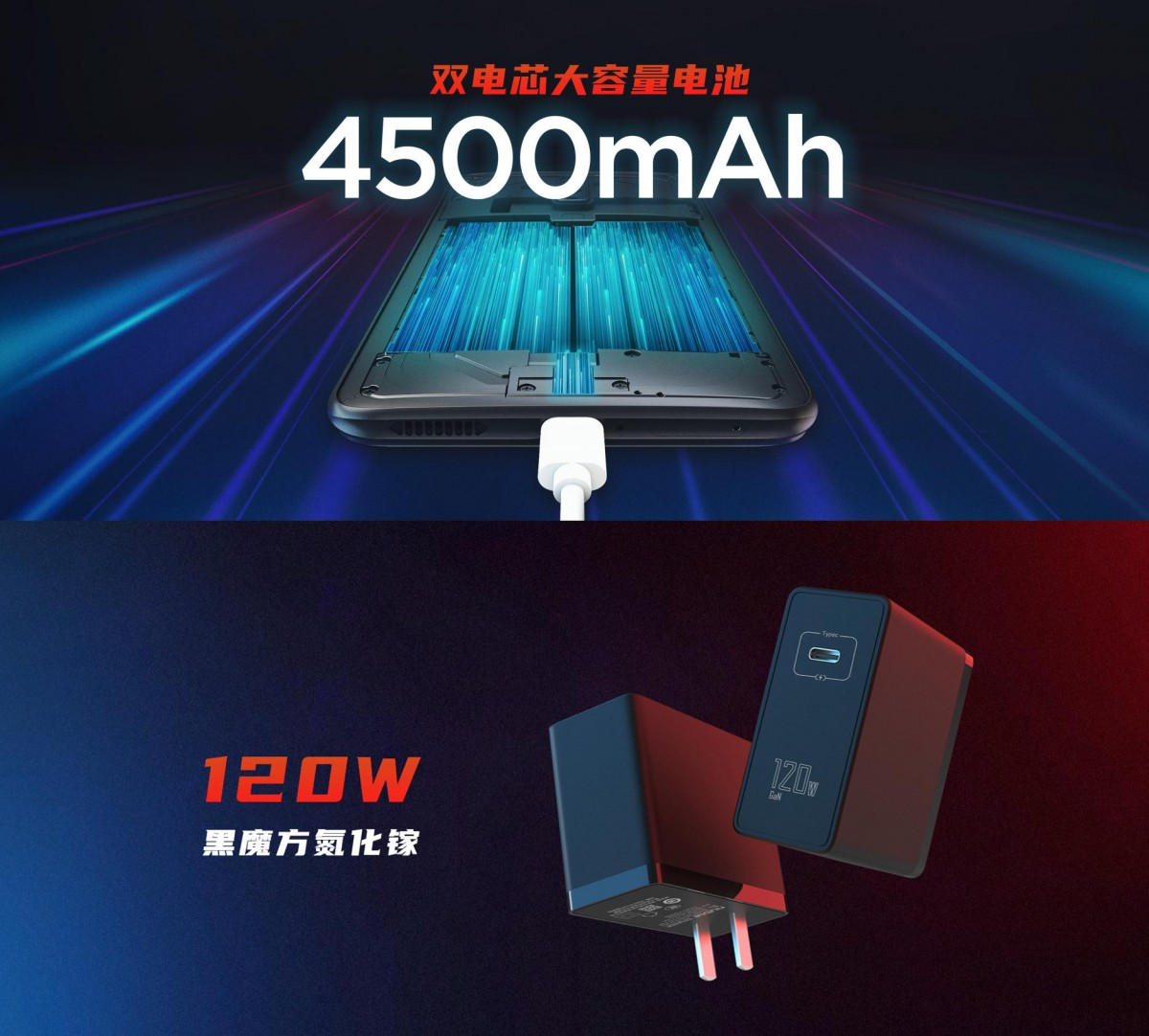 nubia Red Magic 6 Pro зарядка