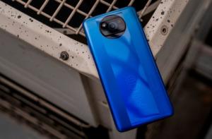 Poco X3 Pro синий