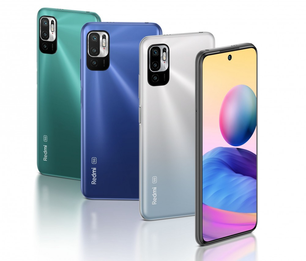 Redmi Note 10 5G цвета