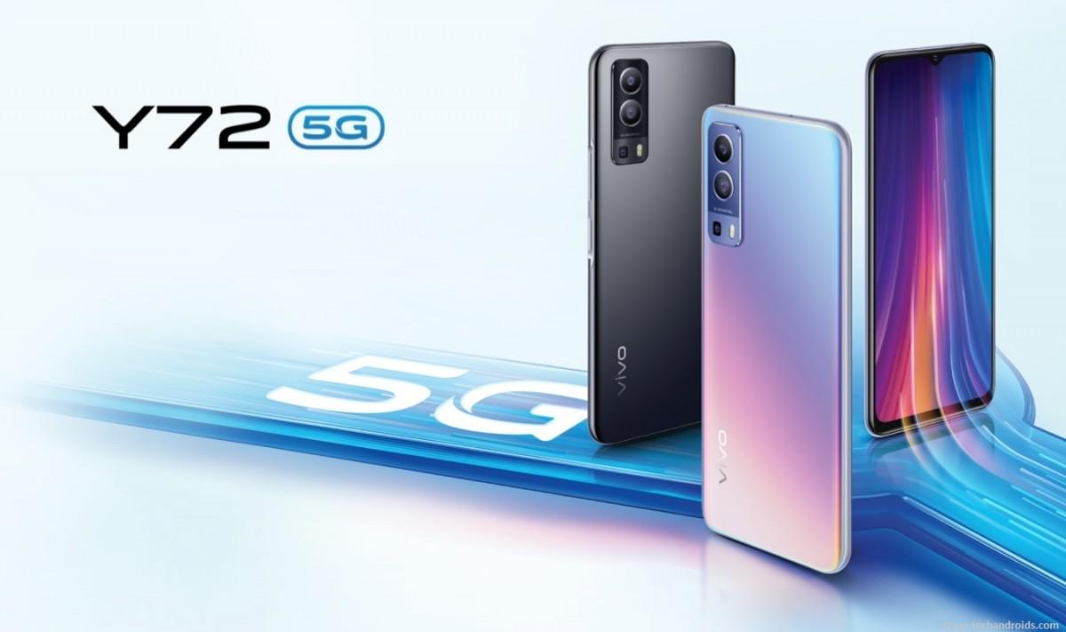 vivo Y72 5G цвета