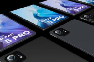 Xiaomi Mi Pad 5 рендер