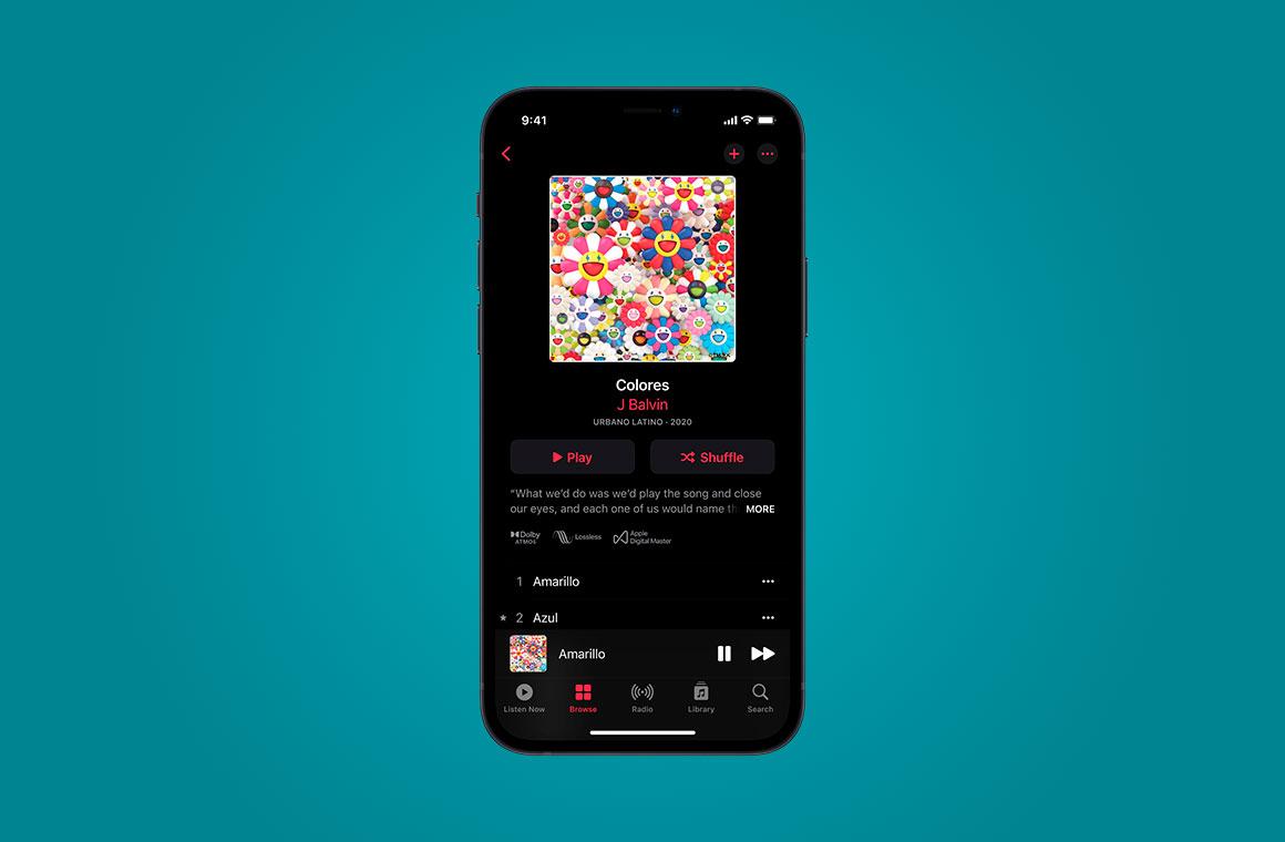 Apple Music Lossless Audio