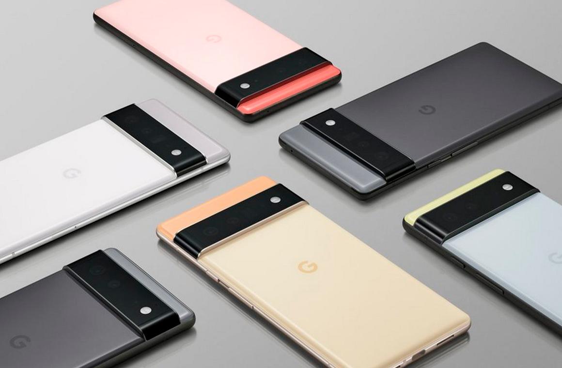 Google Pixel 6 цвета