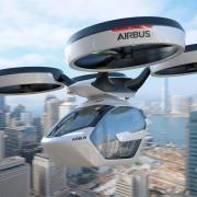 Летающие такси от Airbus могут появиться в Париже к 2024…