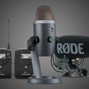 Как выбрать микрофон для записи видео и подкастов?