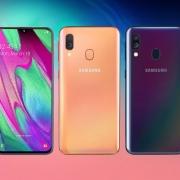 Samsung представила бюджетный Galaxy A40