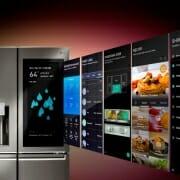 Умные холодильники Samsung и LG со встроенными дисплеями