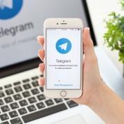В России аудитория Telegram выросла на треть