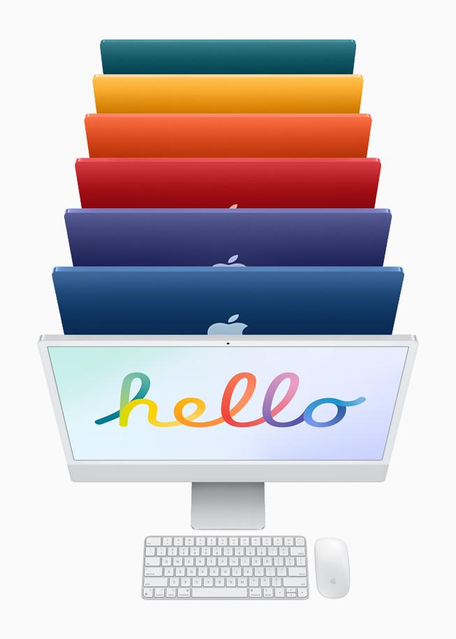 iMac цвета