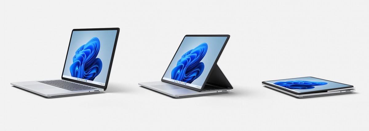 Microsoft Surface Laptop Studio режимы