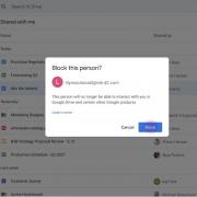 Теперь на Google Drive можно блокировать пользователей