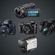 Камера для блогов: подборка пяти камер начального уровня